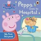 Penguin Group UK PEPPA PIG GOES TO HOSPITAL FIRST BOARD STORYBOOK cena od 96 Kč