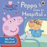 Penguin Group UK PEPPA PIG GOES TO HOSPITAL FIRST BOARD STORYBOOK cena od 110 Kč