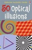 Usborne Publishing 50 OPTICAL ILLUSIONS - TAPLIN, S. cena od 144 Kč