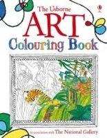 Usborne Publishing ART COLOURING BOOK - DICKINS, R. cena od 145 Kč