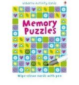 Usborne Publishing USBORNE PUZZLE CARDS: MEMORY PUZZLES - KHAN, S. cena od 144 Kč