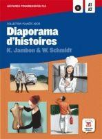 Maison des langues DIAPORAMA D´HISTOIRES + CD A1-A2 - JAMBON, K., SCHMIDT, W. cena od 175 Kč