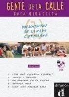 Difusión GENTE DE LA CALLE 1 GUIA DIDACTICA - SANS, N. cena od 288 Kč