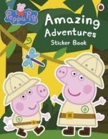 Ladybird Books PEPPA PIG: AMAZING ADVENTURES STICKER BOOK cena od 122 Kč
