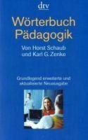 Deutscher Taschenbuch Verlag WÖRTERBUCH PÄDAGOGIG cena od 545 Kč