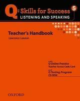 OUP ELT Q: SKILLS FOR SUCCESS 5 LISTENING & SPEAKING TEACHER´S HANDB... cena od 636 Kč