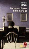 HACH-BEL METAMORPHOSE D´UN MARIAGE - MÁRAI, S. cena od 219 Kč