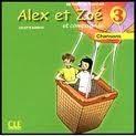 CLE international ALEX ET ZOE ET COMPAGNIE 3 CD Chansons cena od 217 Kč