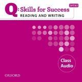 OUP ELT Q: SKILLS FOR SUCCESS INTRO READING & WRITING CLASS AUDIO CD... cena od 208 Kč