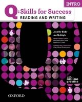 OUP ELT Q: SKILLS FOR SUCCESS INTRO READING & WRITING STUDENT´S BOOK... cena od 442 Kč