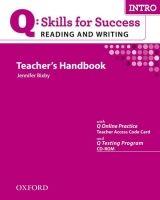 OUP ELT Q: SKILLS FOR SUCCESS INTRO READING & WRITING TEACHER´S HAND... cena od 606 Kč