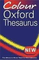 OUP References COLOUR OXFORD THESAURUS 3rd Edition cena od 213 Kč