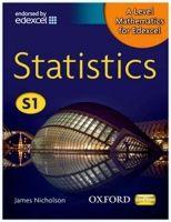 OUP ED A Level Mathematics for Edexcel: Statistics S1 - Nicholson, ... cena od 422 Kč