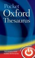 OUP References POCKET OXFORD THESAURUS Second Edition cena od 220 Kč