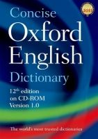 OUP References CONCISE OXFORD ENGLISH DICTIONARY 12th Edition on CD-ROM Ver... cena od 513 Kč