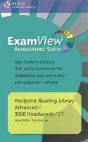 Heinle ELT part of Cengage Lea FOOTPRINT READERS LIBRARY Level 3000 EXAMVIEW SUITE CD-ROM -... cena od 1022 Kč
