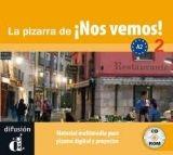 Difusión LA PIZARRA DE NOS VEMOS! A2 - LLORET, E. M., RIBAS, R. cena od 0 Kč