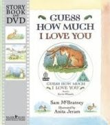 Walker Books Ltd GUESS HOW MUCH I LOVE YOU (BOOK + DVD) - MCBRATNEY, S. cena od 0 Kč