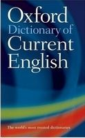 OUP References OXFORD DICTIONARY OF CURRENT ENGLISH 4th Edition cena od 122 Kč