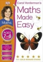 Dorling Kindersley MATHS MADE EASY AGES 7-8 KEY STAGE 2 BEGINNER - VORDERMAN, C... cena od 71 Kč