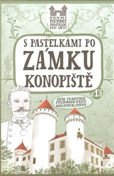 Eva Chupíková: S pastelkami po zámku Konopiště cena od 66 Kč