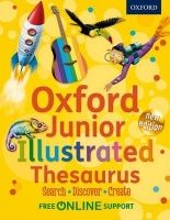 OUP ED OXFORD JUNIOR ILLUSTRATED THESAURUS New Edition cena od 314 Kč