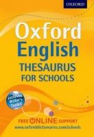 OUP ED OXFORD ENGLISH THESAURUS FOR SCHOOLS cena od 241 Kč