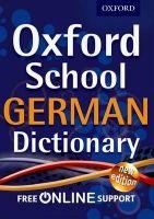 OUP ED OXFORD SCHOOL GERMAN DICTIONARY cena od 168 Kč