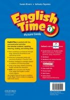 OUP ELT ENGLISH TIME 2nd Edition 1 PICTURE CARDS - RIVERS, S., TOYAM... cena od 1306 Kč