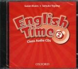 OUP ELT ENGLISH TIME 2nd Edition 2 CLASS AUDIO CDs /2/ - RIVERS, S.,... cena od 439 Kč