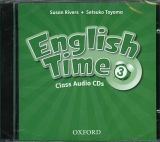 OUP ELT ENGLISH TIME 2nd Edition 3 CLASS AUDIO CDs /2/ - RIVERS, S.,... cena od 439 Kč