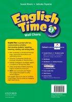 OUP ELT ENGLISH TIME 2nd Edition 3 WALL CHARTS - RIVERS, S., TOYAMA,... cena od 642 Kč