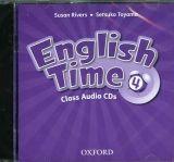 OUP ELT ENGLISH TIME 2nd Edition 4 CLASS AUDIO CDs /2/ - RIVERS, S.,... cena od 439 Kč