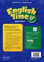 OUP ELT ENGLISH TIME 2nd Edition 4 WALL CHARTS - RIVERS, S., TOYAMA,... cena od 675 Kč