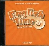 OUP ELT ENGLISH TIME 2nd Edition 5 CLASS AUDIO CDs /2/ - RIVERS, S.,... cena od 439 Kč