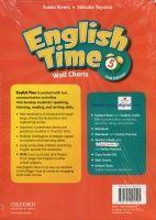 OUP ELT ENGLISH TIME 2nd Edition 5 WALL CHARTS - RIVERS, S., TOYAMA,... cena od 675 Kč