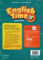 OUP ELT ENGLISH TIME 2nd Edition 6 WALL CHARTS - RIVERS, S., TOYAMA,... cena od 675 Kč