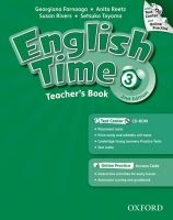 OUP ELT ENGLISH TIME 2nd Edition 3 TEACHER´S BOOK + TEST CENTER CD-R... cena od 582 Kč