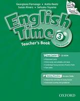 OUP ELT ENGLISH TIME 2nd Edition 3 TEACHER´S BOOK + TEST CENTER CD-R... cena od 611 Kč