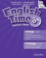 OUP ELT ENGLISH TIME 2nd Edition 4 TEACHER´S BOOK + TEST CENTER CD-R... cena od 582 Kč