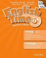 OUP ELT ENGLISH TIME 2nd Edition 5 TEACHER´S BOOK + TEST CENTER CD-R... cena od 611 Kč