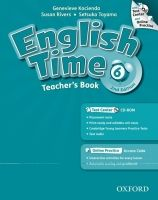 OUP ELT ENGLISH TIME 2nd Edition 6 TEACHER´S BOOK + TEST CENTER CD-R... cena od 611 Kč