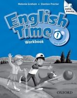 OUP ELT ENGLISH TIME 2nd Edition 1 WORKBOOK WITH ONLINE PRACTICE - G... cena od 309 Kč