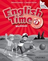 OUP ELT ENGLISH TIME 2nd Edition 2 WORKBOOK WITH ONLINE PRACTICE - G... cena od 309 Kč