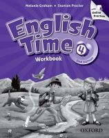 OUP ELT ENGLISH TIME 2nd Edition 4 WORKBOOK WITH ONLINE PRACTICE - G... cena od 309 Kč