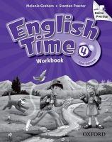 OUP ELT ENGLISH TIME 2nd Edition 4 WORKBOOK WITH ONLINE PRACTICE - G... cena od 324 Kč