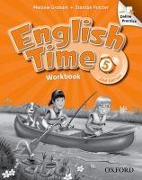 OUP ELT ENGLISH TIME 2nd Edition 5 WORKBOOK WITH ONLINE PRACTICE - G... cena od 309 Kč