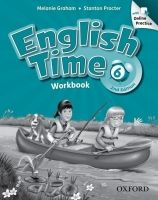 OUP ELT ENGLISH TIME 2nd Edition 6 WORKBOOK WITH ONLINE PRACTICE - G... cena od 309 Kč
