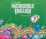 OUP ELT INCREDIBLE ENGLISH 2nd Edition 3 CLASS AUDIO CDs /3/ - PHILL... cena od 626 Kč