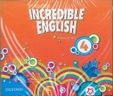 OUP ELT INCREDIBLE ENGLISH 2nd Edition 4 CLASS AUDIO CDs /3/ - PHILL... cena od 626 Kč